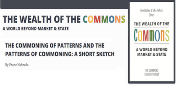 Commoning Patterns & Patterns of Commoning